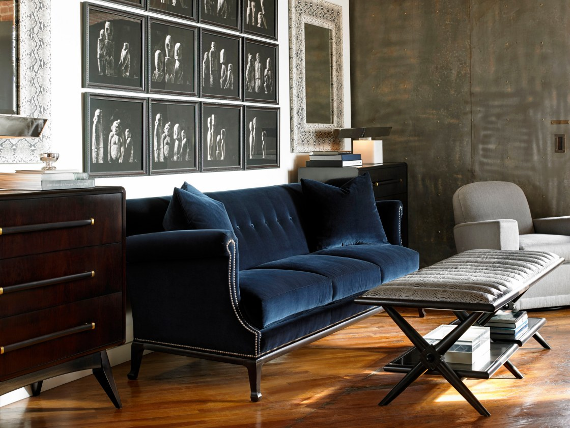 Hickory Chair Dylan Sofa Fulham Coffee Table Upholster Reed Chest Knox Swivel Lounge Chair
