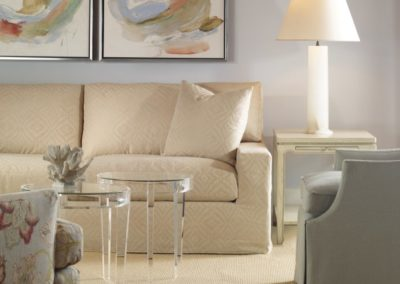 Highland House Kennedy Sofa Hutton End Wanda Lucite Acrylic Benjamin Chair Raleigh Skirted Swivel London Column Lamp Visual Comfort Thomas Obrien Visual Comfort