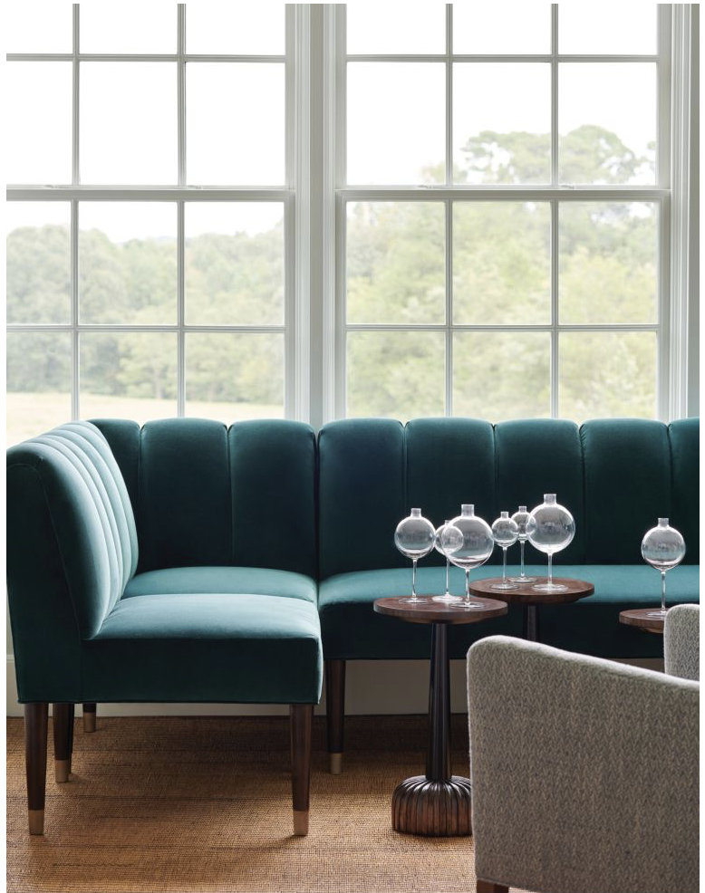 Inga Banquette - Hickory Chair