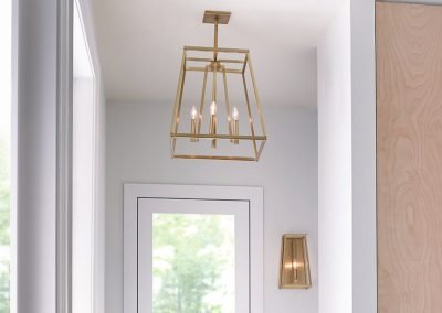 Generation Lighting - entryway lantern light