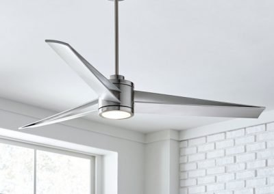 Monte Carlo fan armstrong collection brushed steel