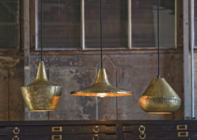 Regina Andrew Design contemporary brass pendant light fixture
