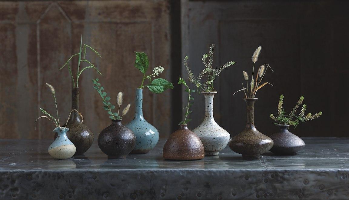 Regina Andrew Design pottery vases