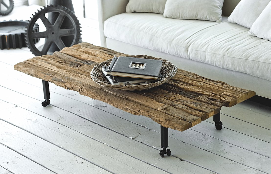 Regina Andrew Design rustic coffee table